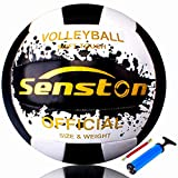 Senston Balon Voleibol Tacto Suave Voleibol de Entrenamiento, Balon Voley...