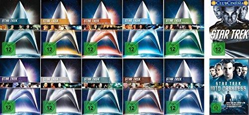 Star Trek - Kinofilme 1-12 (einzeln) im Set - Deutsche Originalware [12 DVDs]