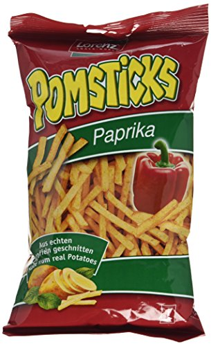 Lorenz Snack World Pomsticks Paprika, 12er Pack (12 x 100 g)