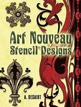 Art Nouveau Stencil Designs (Dover Pictorial Archive)