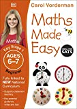 Maths Made Easy: Beginner, Ages 6-7 (Key Stage 1): Supports the National Curriculum, Maths Exercise Book (Made Easy Workbooks)