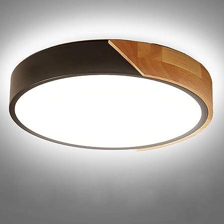 Kambo LED Plafonnier 24W 2400LM LED Lampe de Plafond Moderne Rond Blanc Froid 6000K Ø30*5CM Chambre la Cuisine le Salon le Balcon et le Couloir