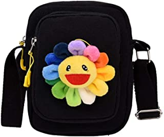 Wogo Women Backpack Purse Fashion Sun flower Pocket Bag Single Shoulder Bag Slant Bag