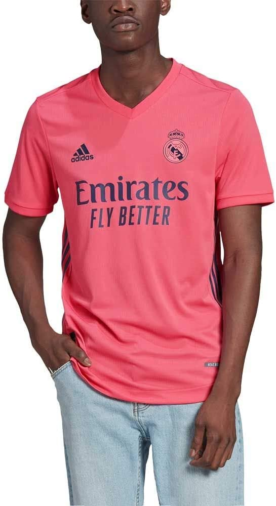 adidas 2020-21 Real Madrid Authentic Away Jersey - Pink