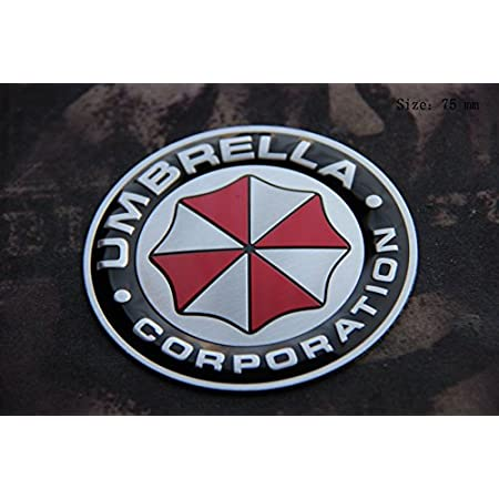 D981 Umbrella Auto Aufkleber 3d Emblem Car Sticker Emblema Abziehbild Alu Rund Auto