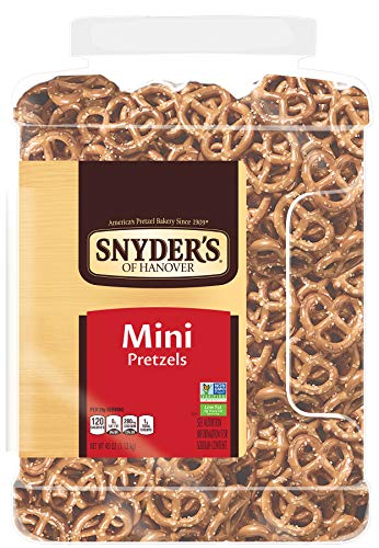 Snyder's of Hanover Mini Pretzels, 40 Ounce