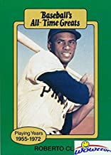 Roberto Clemente 1987 Hygrade Pirates Hall of Famer! Shipped in Ultra Pro Top Loader to Protect it! Wowzzer!