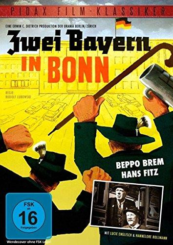 Zwei Bayern in Bonn / Turbulente Komödie mit Beppo Brem und Hans Fitz (Pidax Film-Klassiker)
