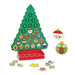 Kubla Crafts Stuffed Oh Christmas Tree Fabric Advent Calendar