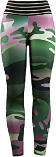 Hioinieiy Women's Camo Printed Leggings High Waisted Workout Yoga Pants Various Styles