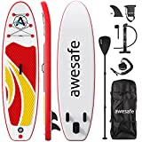 Best SUP Boards - awesafe Inflatable Stand Up Paddle Board with Premium Review