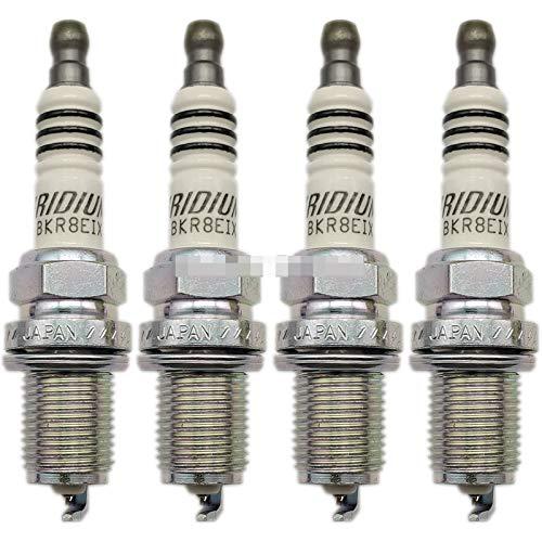 YSDHE 4pcs BKR8EIX 2668 SPROPS para Iridium IX FIT para Audi Volkswagen A3 A4 A5 TT TTS CC TIGUAN Jetta Passat Car para enchufes de alimentación de iridio