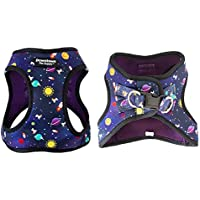 Downtown Step in Adjustable Dog Harness with Padded Vest (Space, XL)