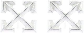 Luxury Fashion | Off-White Womens OWOD017E19F730770100 White Earrings | Fall Winter 19
