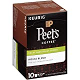 Peet's Coffee K-Cup Decaf House Blend, 10 Count (Pack of 6)