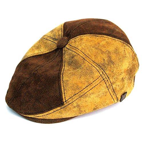 DASMARCA-Collection Hiver-Casquette en Cuir Sahara-Hunter-L