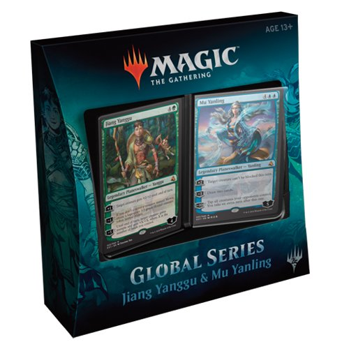 Magic The Gathering mtg-gs1-en Global Serie Jiang yanggu und Mu yanling Duell Decks
