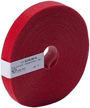 Patchsee ECOS-SR-10 - Eco-cero, velcro, 10 m de largo, 19 mm de ancho, de  color rojo: Amazon.es: Bricolaje y herramientas