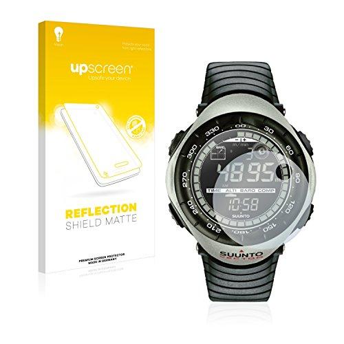 upscreen Entspiegelungs-Schutzfolie kompatibel mit Suunto Vector Khaki – Anti-Reflex Bildschirmschutz-Folie Matt