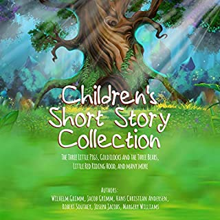 Children's Short Story Collection     The Three Little Pigs, Goldilocks and the Three Bears, Little Red Riding Hood, and Many More              By:                                                                                                                                 Wilhelm Grimm,                                                                                        Jacob Grimm,                                                                                        Hans Christian Andersen,                   and others                          Narrated by:                                                                                                                                 Carol Mintz                      Length: 1 hr and 58 mins     2 ratings     Overall 5.0