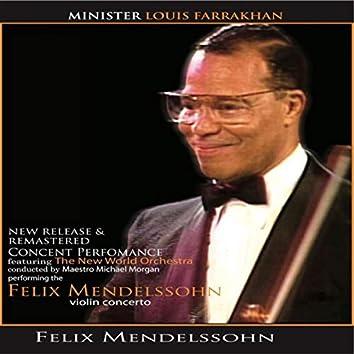 Felix Mendelssohn: Violin Concerto (Live)