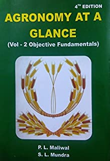 Agronomy at a Glance Vol 2: Objective Fundamentals 4th edn