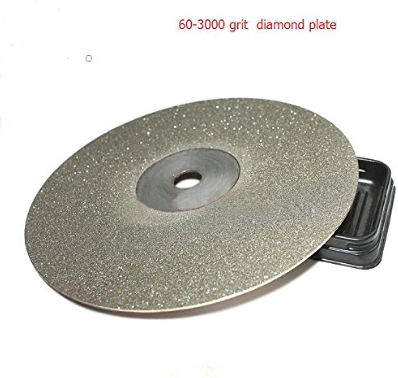 Zoomy Far Diatools Abrasive Disc Jade Polished Diamond disc Wheel 150  13mm 60grit -3000 grit   80 Grit