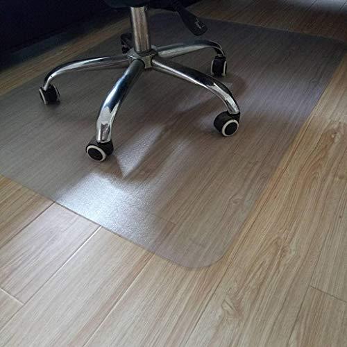 TIKNPOL met Lip bureaustoel Mat, Crystal Clear Pvc slijtvaste antislip vloermat tapijt mat voor hardhout vloer