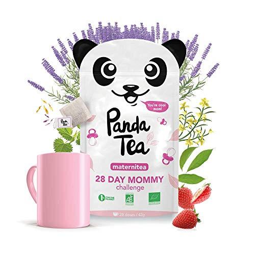 Panda Tea - Maternitea - Tisane Grossesse et Allaitement Sans Caféine Certifiée BIO - 28...