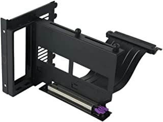 Cooler Master MasterAccessory Vertical Graphics Card Holder Kit Version 2 with Premium Riser Cable PCI-E 3.0 x16-165mm, Co...