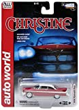 AWSS6401 Auto World - Plymouth Fury - Christine - 1/64, Rouge/ Blanc