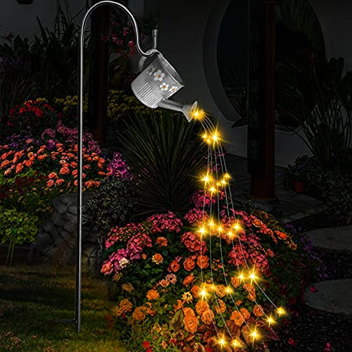 Luci da giardino a LED a forma di fiaba, stile artistico creativo con cielo stellato, innaffiatoio impermeabile, luce cielo stellato da giardino per esterni giardino prato decorazione