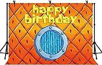 NEW7x5ftハッピーバースデーの写真の背景の誕生日パーティーパイナップルの背景ベビーシャワーの装飾バナーの写真スタジオの小道具35