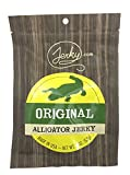 Jerky.com's Original Alligator Jerky - The Best Wild Game Alligator Jerky on the Market - 100% Whole Muscle Gator - No Added Preservatives, No Added Nitrates and No Added MSG - 1.75 oz. bag