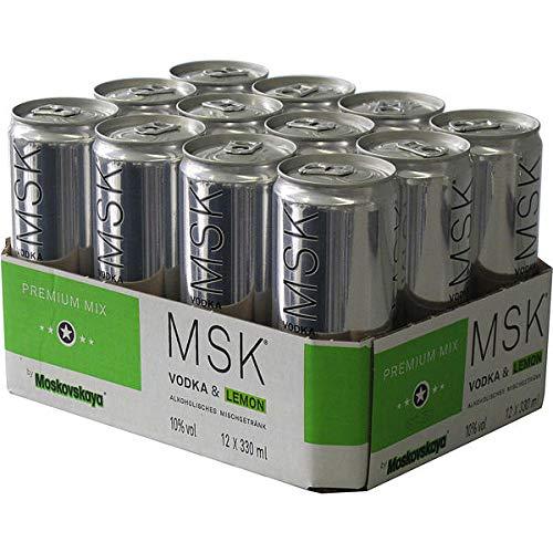 MSK Lemon Vodka, EINWEG (12 x 0.33 l)