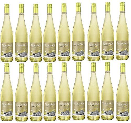 18 Flaschen Strandgut Weiß a 0,75 L 6% vol. Weinschorle