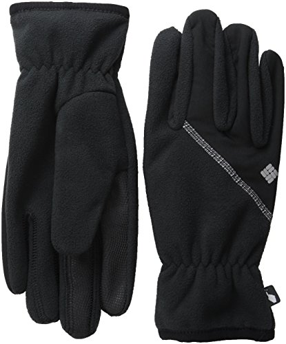 Columbia Men's Wind Bloc Gloves, Black, Medium