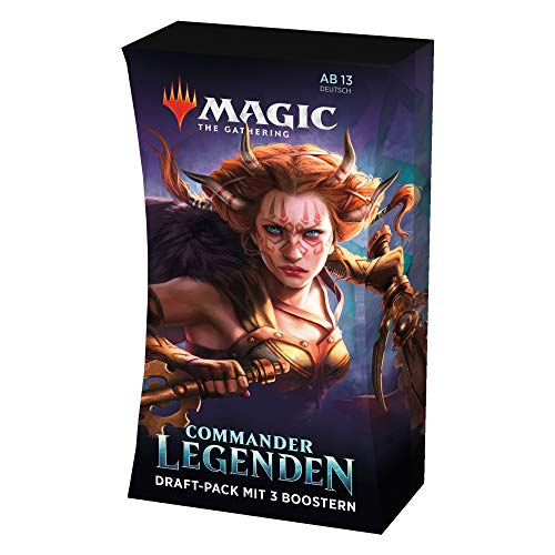 Magic the Gathering C63301000 Commander-Legenden Draft-Pack (60 Karten)