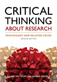 Best Critical Thinking Textbooks - Critical Thinking About Research: Psychology and Related Fields Review