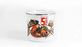 KLOSH Singapore Food Enamel Cup