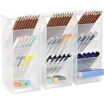 96 Hole Pencil Holder Offices /& School Desktop Organizer Pen Storage Display