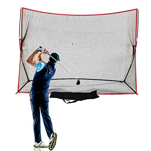 Hit Run Steal Heavy Duty Golf Net 10 X 7 - Perfect Golf Practice Net for...