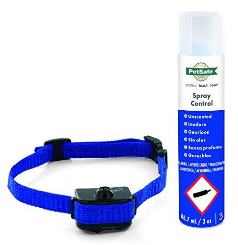 PetSafe Collar Antiladridos Deluxe con Espray para Perros Pequeños De 3,6 A 25 Kg Espray De Citronela - Dispositivo Antiladridos ⭐