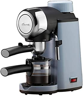 Vudifo エスプレッソとカプチーノ用のエクスプレスコーヒーメーカー、800 W、5バー、調整可能な気化器、容量240ml、挽いたコーヒーとポッド、ダブルコンセント付き