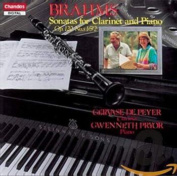 Brahms  Sonatas for Clarinet & Piano Op 120
