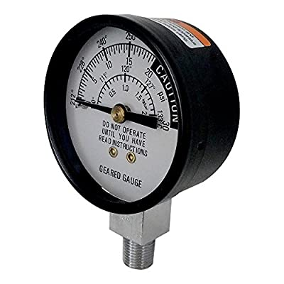 All American 72 Pressure Cooker Steam Gauge