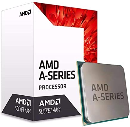AMD AD9600AGABBOX Processor Quad-Core with Radeon R7 Graphics, 7Th Generation
