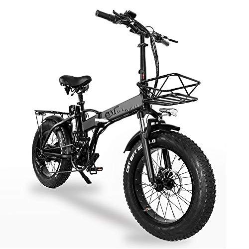 VENTDOUCE E-Bike Elektrofahrrad klappbar E-Bike Faltrad 20 Zoll Klappfahrrad mit 5 Gang Rennrad, 500W Elektrofahrräder Höchstgeschwindigkeit 40km/h, Belastbar bis 150kg