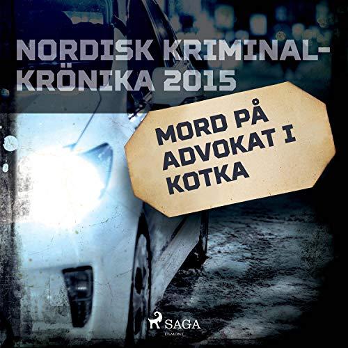 Mord på advokat i Kotka cover art