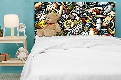Ideal para dar un nuevo aire a tu dormitorio Fabricado en PVC espumado de 5 mm con impresión directa UVI. Gran ligereza, resistencia y durabilidad.